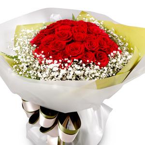 빨간장미꽃다발2