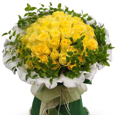 노란장미한아름