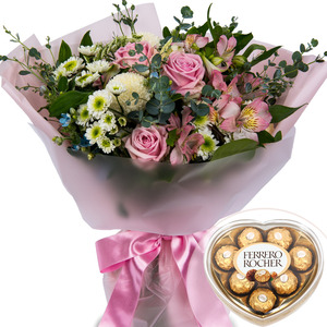 꽃다발02+ 페레로로쉐 [Valentine Day]