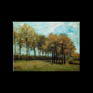 빈센트 반고흐 가을풍경 그림화환 결혼식축하화환