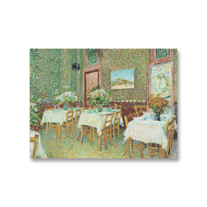 빈센트 반고흐 식당내부풍경 그림화환 결혼식축하화환
