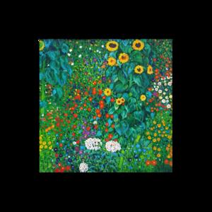 그림화환 축하예식용 꽃이있는농장정원 구스타프클림트
