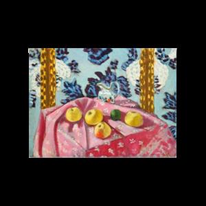 그림화환 결혼식화환 축하화환 분홍탁자위에정물 마티스