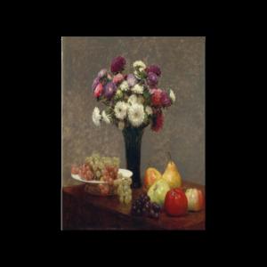 그림화환 결혼식화환 축하화환 책상위에과 꽃과 과일 앙리라투르